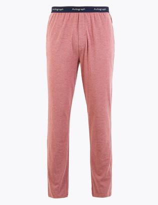 Marks and Spencer Premium Cotton Supersoft Pyjama Bottoms