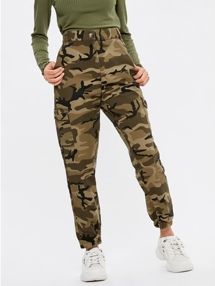 M&Co Teen camouflage combat trousers