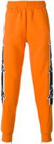 Kappa contrast stripe track pants
