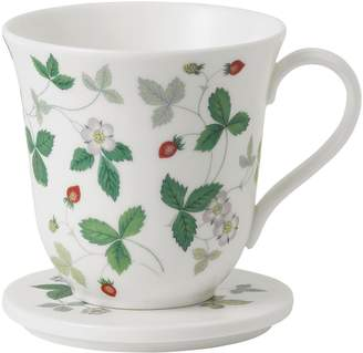 Wedgwood Wild Strawberry Lidded Mug
