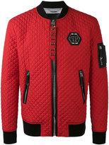 Philipp Plein Okyo bomber jacket - men - Polyester/Polyamide/Polyurethane - S