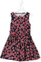 Armani Junior starfish print dress - kids - Cotton/Polyamide/Spandex/Elastane - 4 yrs