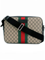 Gucci Web GG Supreme briefcase - men - Leather - One Size