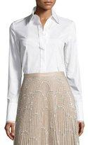 Alexis Matilda Classic Button-Down Shirt, White