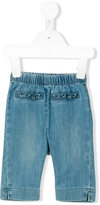 Il Gufo elastic waist jeans