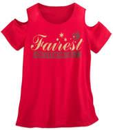 Disney Snow White Fairest of Them All Cold-Shoulder Top - Women Boutique