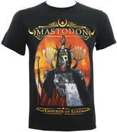 Global Mastodon Men's Emperor of Sand Album Cover Slim-Fit T-Shirt L