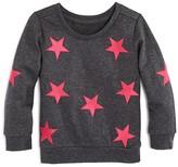 Bloomie's Girls' Star Patch Sweatshirt - Sizes 2-6X