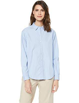 BOSS Casual Ladies Emaine_1 blouse, per pack blue (Open Blue 460), (manufacturer size: ),10 UK