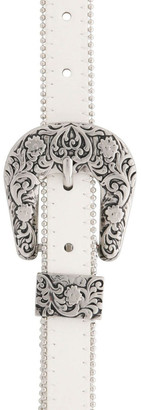 Miss Shop Studded Western Buckle Belt
