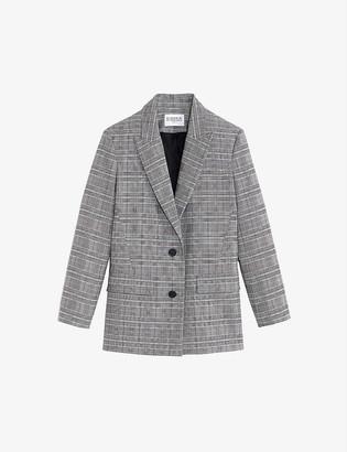 Claudie Pierlot Vauman single-breasted stretch-woven blazer