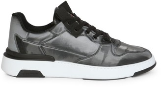 Givenchy Hologram Leather Low-Top Sneakers
