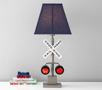 Pottery Barn Kids Railroad Crossing Lamp
