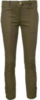 Veronica Beard Cargo Cropped Trousers