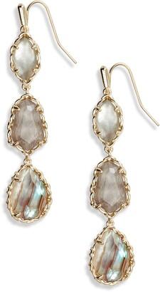 Kendra Scott Gwenyth Triple Drop Earrings