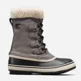 Thumbnail for your product : Sorel Women's Winter Carnival Waterproof Nylon Lace Up Boots - Quarry/Black