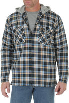 Wrangler Riggs Workwear Hooded Flannel Jacket