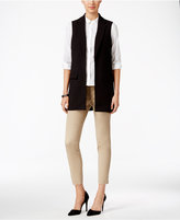 Charter Club Open-Front Vest, Only at Macy's