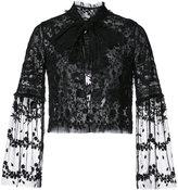 Needle & Thread lace frilled collar jacket