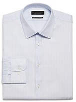 The Men's Store At Bloomingdale's The Men's Store Checked Stretch Regular Fit Dress Shirt