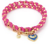 Juicy Couture Bahia Double Wrap Chain Bracelet