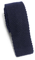 Michael Kors Knitted Cashmere Tie