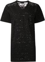 Diesel v-neck T-shirt - men - Cotton/Polyamide - M