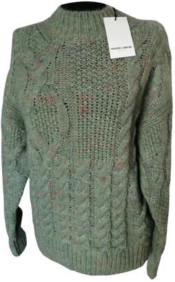 Maison Labiche Green Wool Knitwear