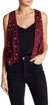 Raga Esmeralda Embroidered Vest
