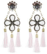 BaubleBar Tasseled Linette Drop Earrings