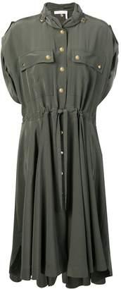Chloé drawstring midi dress