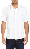 Nat Nast Men's Gondola Embroidered Jacquard Silk Blend Sport Shirt