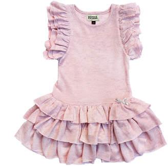 Morgan Sophie Catalou Co. Sophie Catalou Kaya Metallic Foil Knit Dress