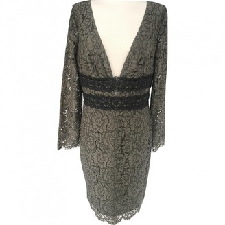 Diane von Furstenberg Khaki Lace Dress for Women
