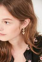Urban Outfitters Layered Heart Drop Earring