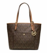 Jet Set Michael Kors Stylish Waterproof Travel Medium Logo Tote