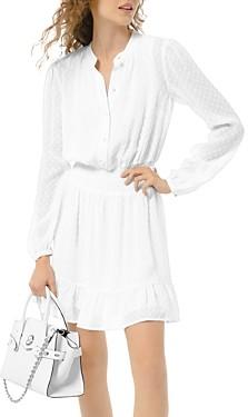MICHAEL Michael Kors Textured Jacquard Mini Dress