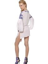 Emilio Pucci Beaded Light Crepe Dress