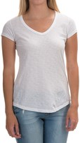 Mercer & Madison Mercer and Madison Slub Jersey T-Shirt - Pima Cotton, Short Sleeve (For Women)