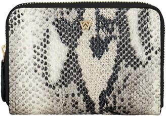 Kelly Wynne Money Maker Leather Zip Wallet