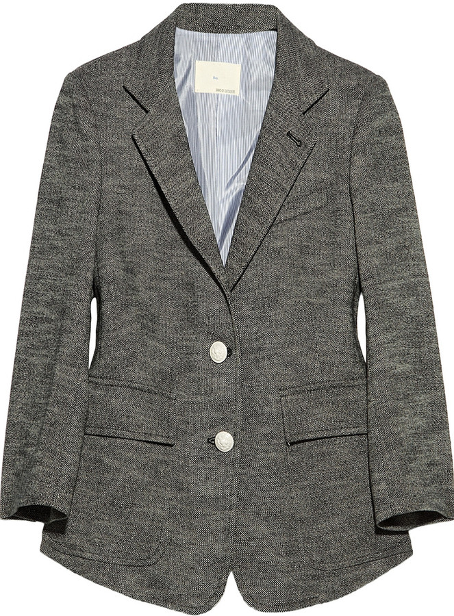 Boy By Band Of Outsiders Cotton-blend tweed blazer