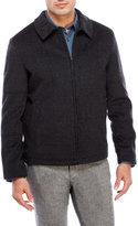Hart Schaffner Marx Wool Zip Front Jacket