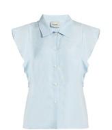 Rachel Comey Laurel ruffle-sleeved top
