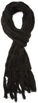 Forever 21 FOREVER 21+ Tasseled Multi-Knit Scarf