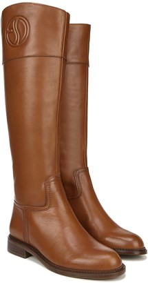 Franco Sarto Leather Tall Shaft Boots - Hudson