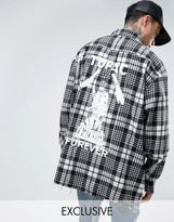 Reclaimed Vintage Inspired Oversized Band Shirt With Back Print