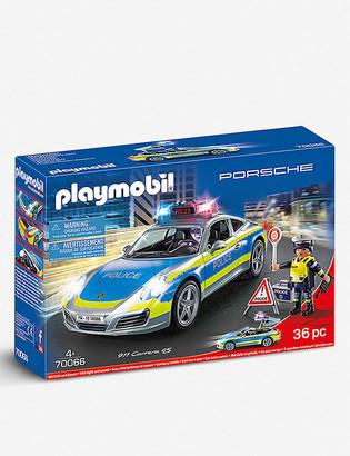Playmobil Porsche Carrera 4s Police play set