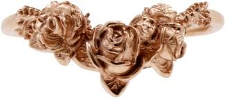 Lee Renee Rose Chevron Ring Rose Gold