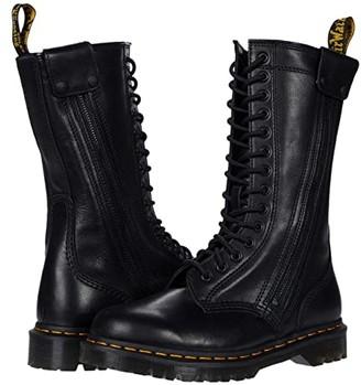 Dr. Martens Hanley (Black Luxor) Shoes