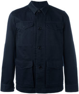 Officine Generale twill field jacket - men - Cotton - S